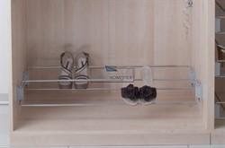Полка для обуви с боковым креплением, 830-1130мм - фото 21497