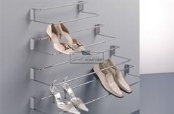 Полка для обуви с фронтальным креплением, 830-1130мм - фото 21499