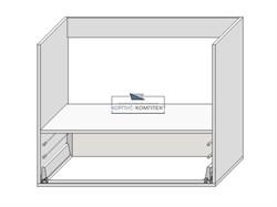Корпус под духовку с ящиком 720*900*560 мм. тип4 - фото 30222