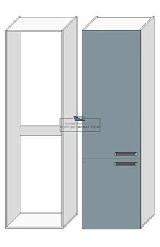 Корпус под холодильник 2080*600*560 мм. - фото 30493