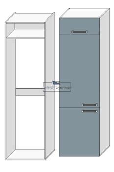Корпус под холодильник (1 полка) 2280*600*560 мм. - фото 30494