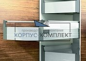Направляющие Tandembox В (650) - (внутренний), серый