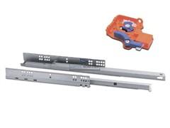 Напр.MODERN SLIDE полного выдвижения с выталкивателем (Push to open) 550мм