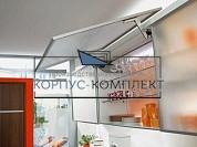 HSA01 Откидной подъемник AVENTOS HS для узких алюминиевых рамок, серый