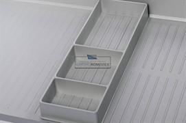 Органайзер для поддонов гигиенических, отделка под алюминий