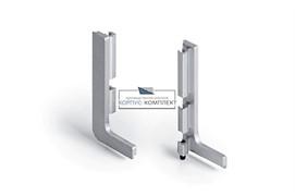 Gola Комплект открытых заглушек (2шт.) для профиля 8006, отделка алюминий анодированный
