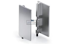 Gola Комплект закрытых заглушек (2шт.) для профиля 8006, отделка алюминий анодированный
