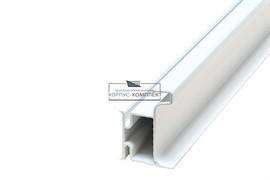 Gola Профиль вертикальный боковой, для 16мм ДСП, L=4500мм, отделка белая