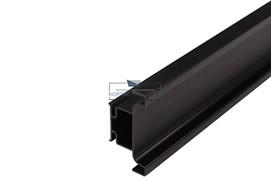 Gola Профиль вертикальный промежуточный, для 16мм ДСП, L=4500мм, отделка черный шлифованный