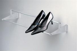 Полка для обуви Tac универсальная, 560-960мм, отделка серая