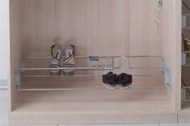 Полка для обуви с боковым креплением, 480-830мм