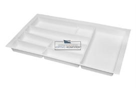 Ёмкость в базу 900 для столовых приборов, цвет белый матовый