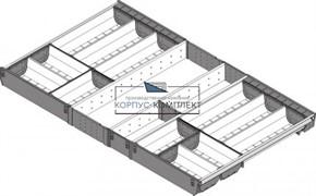 ZSI.90VEI6 Лоток ORGA-LINE с разделителями для ящика 900 х 500 мм