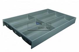 ZC7S500BS3 AMBIA-LINE Лоток для столовых приборов. Для стандартного ящика. Серый орион