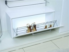 S-6144-С (S-6144) Обувница Starax двухуровневая с фасадным креплением шир. 900 мм (830х230х220) <10>