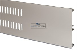 Решётка вентиляционная для цоколя H.100, L=600мм, отделка шампань шлифованная