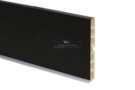 22 Цоколь ПВХ H.100, L=4000, черный глянец