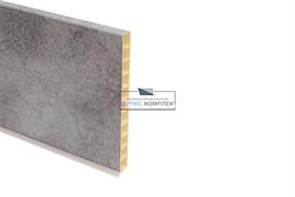 0217 Цоколь ПВХ H.150, L=4000, бетон светло-серый
