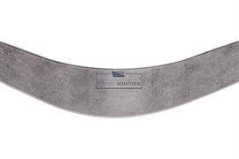 ГП. 0217 Закругление универсальное для цоколя ПВХ Н.150, бетон светло-серый