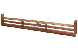 Вентиляционная решётка для цоколя, цвет светло-коричневый
