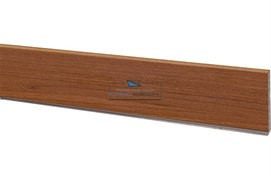 1856 Цоколь ПВХ H.100, L=4000, вишня стандартная