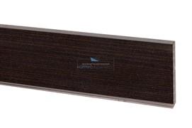 1714 Цоколь ПВХ H.100, L=4000, венге Эльба NEW