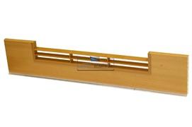 0125 Решётка вентиляционная для цоколя ПВХ H.100, L=600, ольха Ника