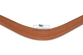 2900 Закругление универсальное для цоколя ПВХ Н.100, вишня красная