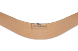 0125 Закругление универсальное для цоколя ПВХ Н.150, ольха Ника