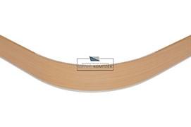 0125 Закругление универсальное для цоколя ПВХ Н.100, ольха Ника