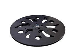 106-01-04-301 Поворотный мех-м под TV, пластик, d=300мм. кругл Mesan <20>