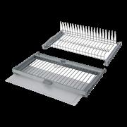 PARTNER Комплект посудосушителей с поддоном, 450 мм, хром