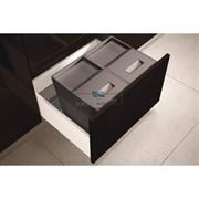 Система хранения в базу 600 (2 ведра), отделка орион серый