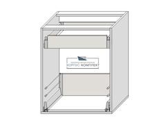 Корпус 2 ящика (1+1 вн.) 720*600*560 мм.
