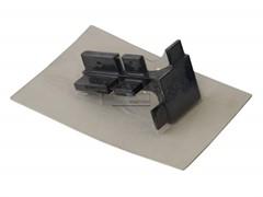 Угол 90° внешний верхнего профиля GOLA Alphalux,, алюминий черный