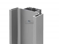 Профиль GOLA FIRMAX вертикальный средний L=3000mm, алюминий серебро