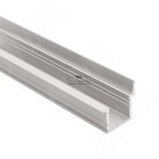 Профиль FM6, врезной со шторкой, серебро, 20х19мм, L-2000
