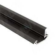 Профиль FM4, врезной, черный, 26х13мм, L-3000