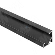 Профиль СМ1, угловой, черный, 17х17мм, L-2000