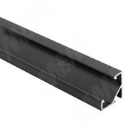 Профиль СМ1, угловой, черный, 17х17мм, L-3000
