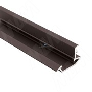 Профиль FM4, врезной, темно-коричневый, 26х13мм, L-3000